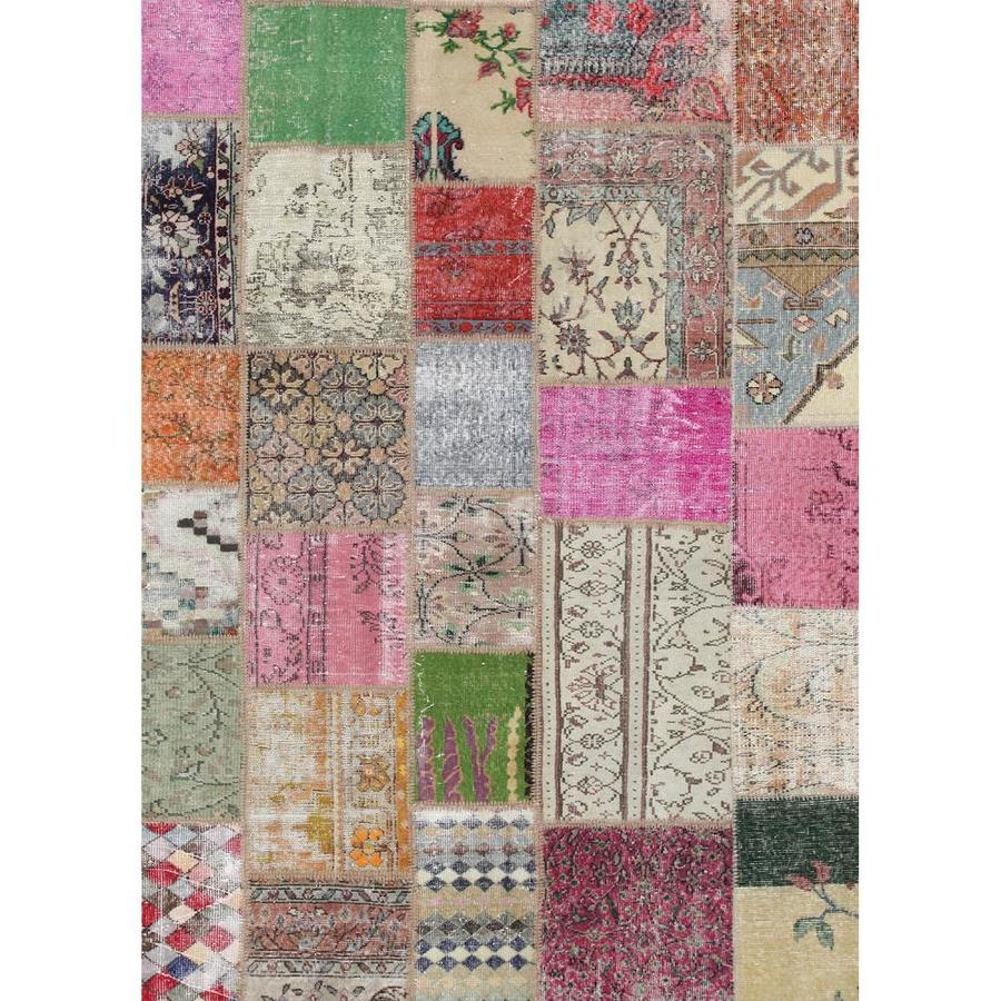 Ruggable Washable Multicolor Indoor Outdoor Distressed Area Rug Common 5 X 7 Actual Ft W L
