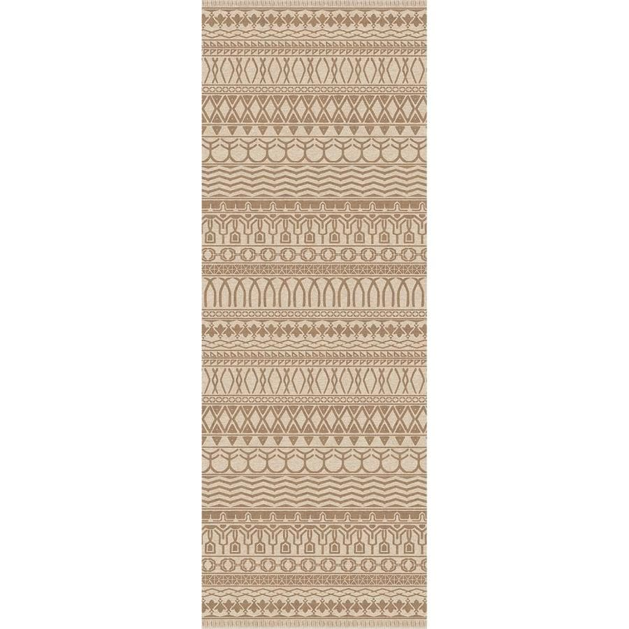 Ruggable Washable Grey Rectangular Indoor/Outdoor Machine-Made Distressed Area Rug (Common: 5 x 7; Actual: 7-ft W x 5-ft L x 0-ft Dia)