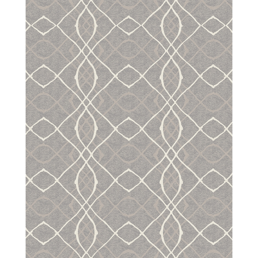 Ruggable Washable Grey Indoor/Outdoor Distressed Area Rug (Common: 8 X 10;