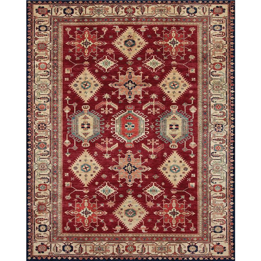 Ruggable Washable Ruby Indoor Outdoor Oriental Area Rug