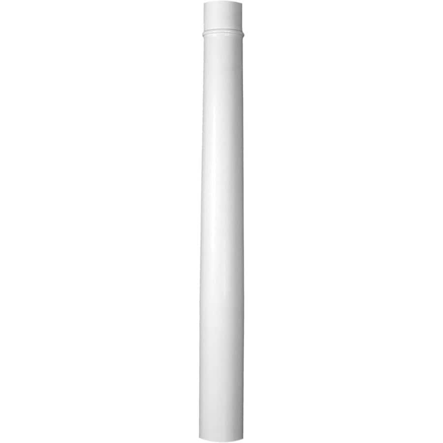 Shop turncraft 91 in x 8 ft fiberglass round column at for Fiberglass interior columns