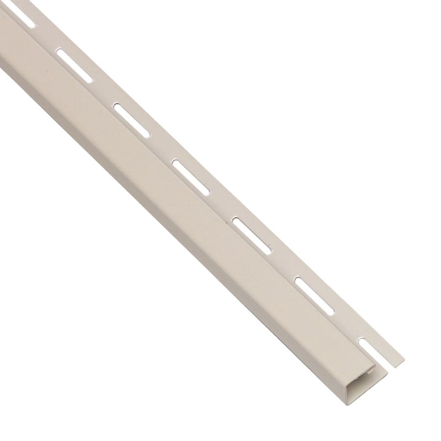 Georgia-Pacific 0.625-in x 150-in Almond J-Channel Vinyl Siding Trim