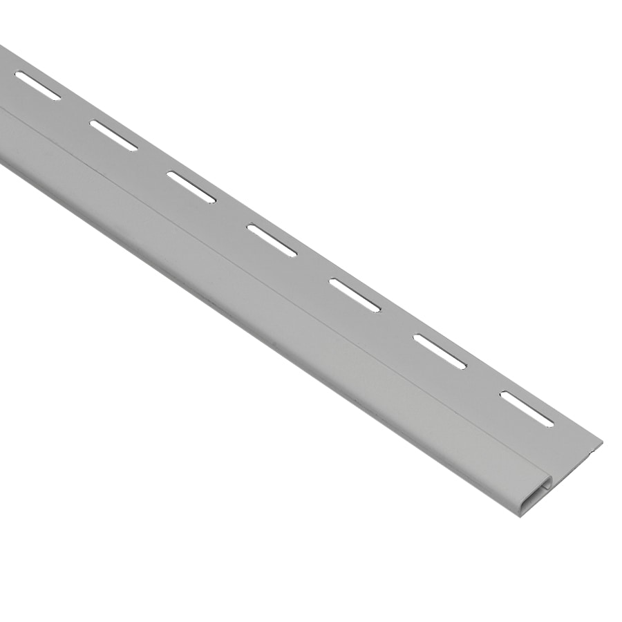Georgia-Pacific 0.375-in x 150-in Gray Undersill Vinyl Siding Trim