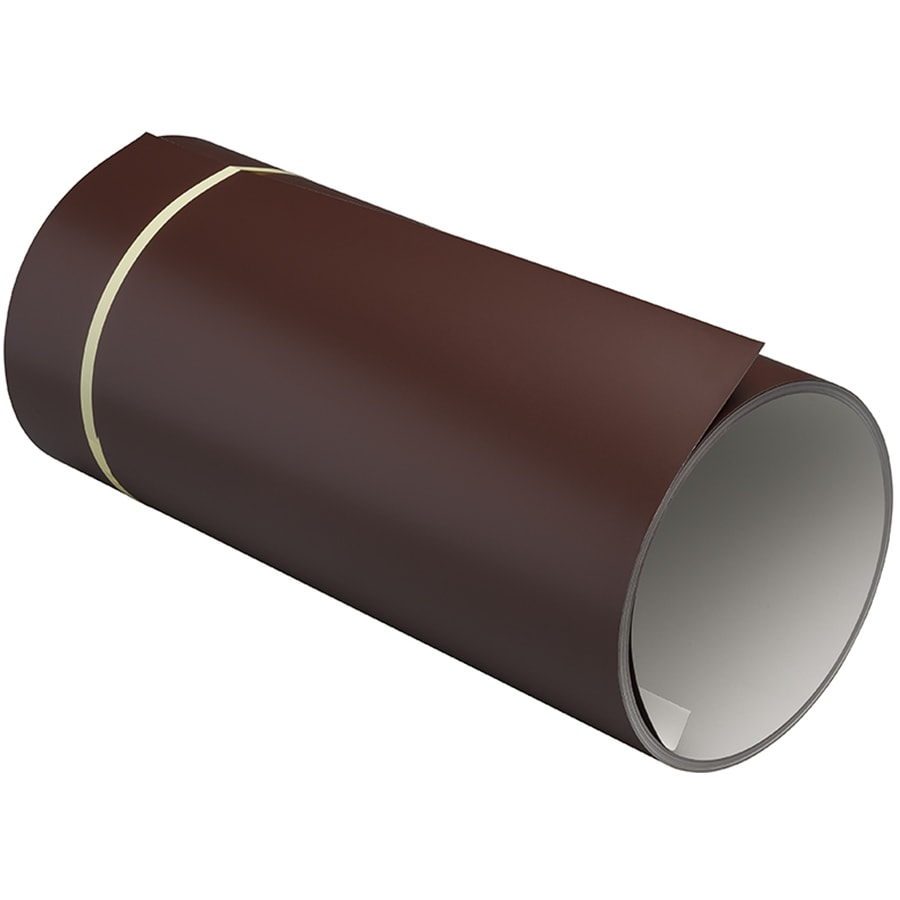 NAPCO 14-in x 600-in Royal Brown Trim Coil Metal Siding Trim