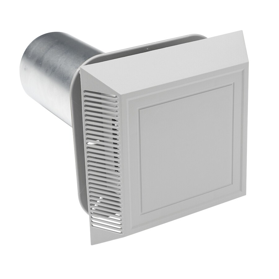 8-in L Gray Plastic Soffit Vent