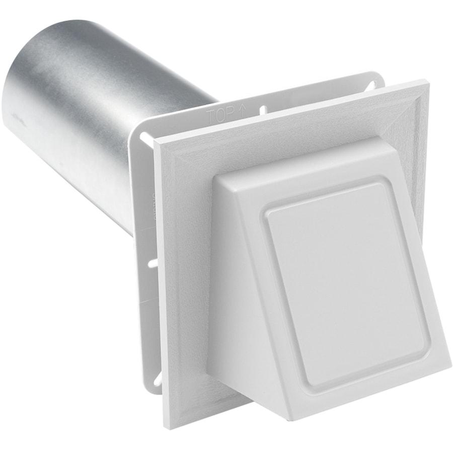Durabuilt 6.75-in x 6.75-in White/Woodgrain Vinyl Universal Mounting Block