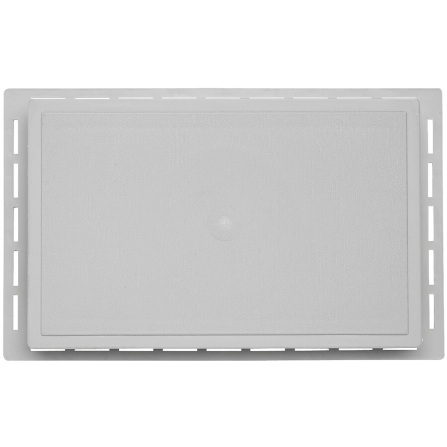Durabuilt 12.625-in x 7.875-in Gray/Woodgrain Vinyl Universal Mounting Block