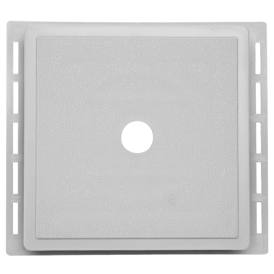 7-in x 7-in Gray Vinyl Universal Mounting Block