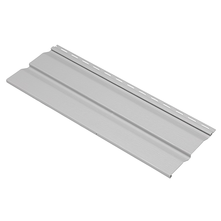 Durabuilt 440 Vinyl Siding Sample Double 4 Dutch Lap Gray