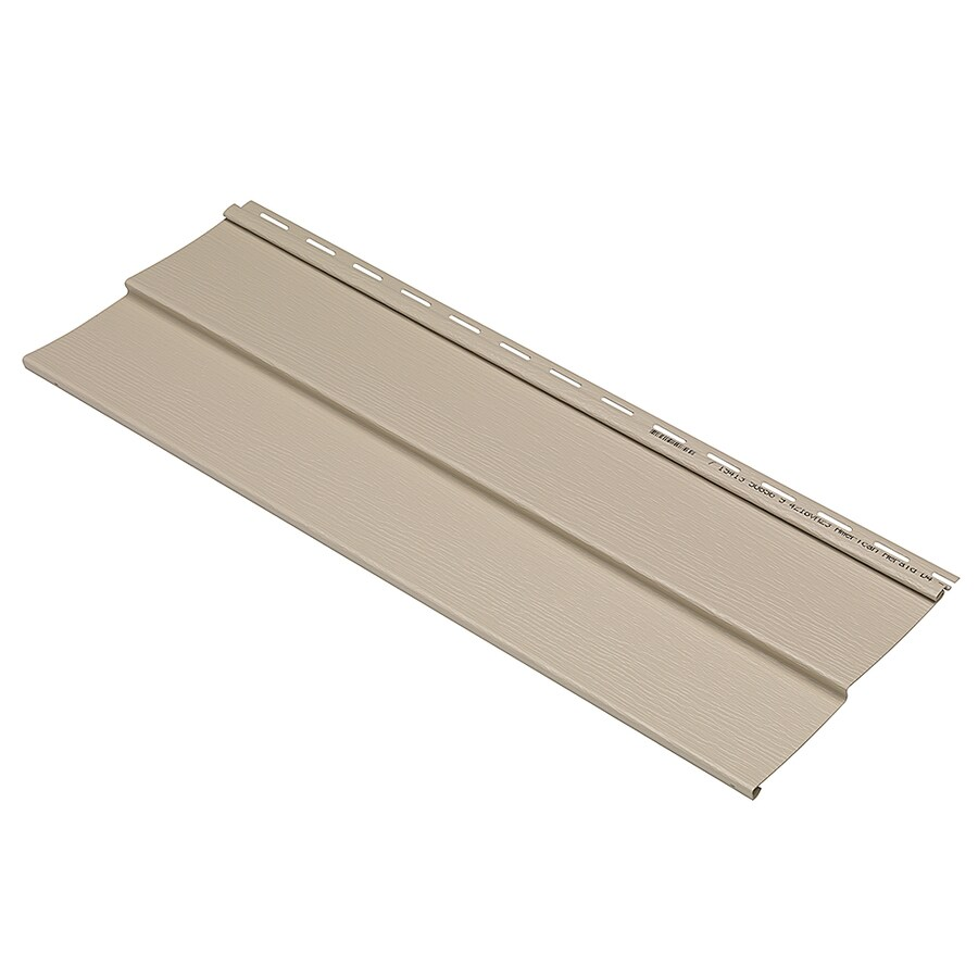 Durabuilt 440 Vinyl Siding Sample Double 4 Traditional Tan
