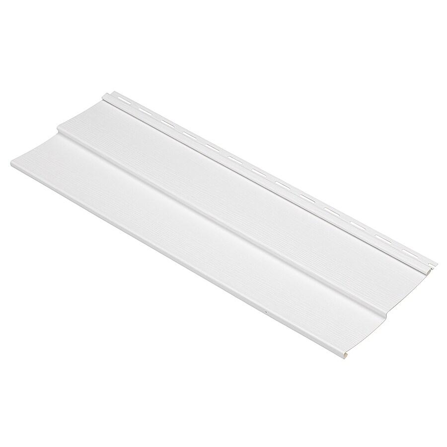 Durabuilt 440 Vinyl Siding Sample Double 4 Traditional White