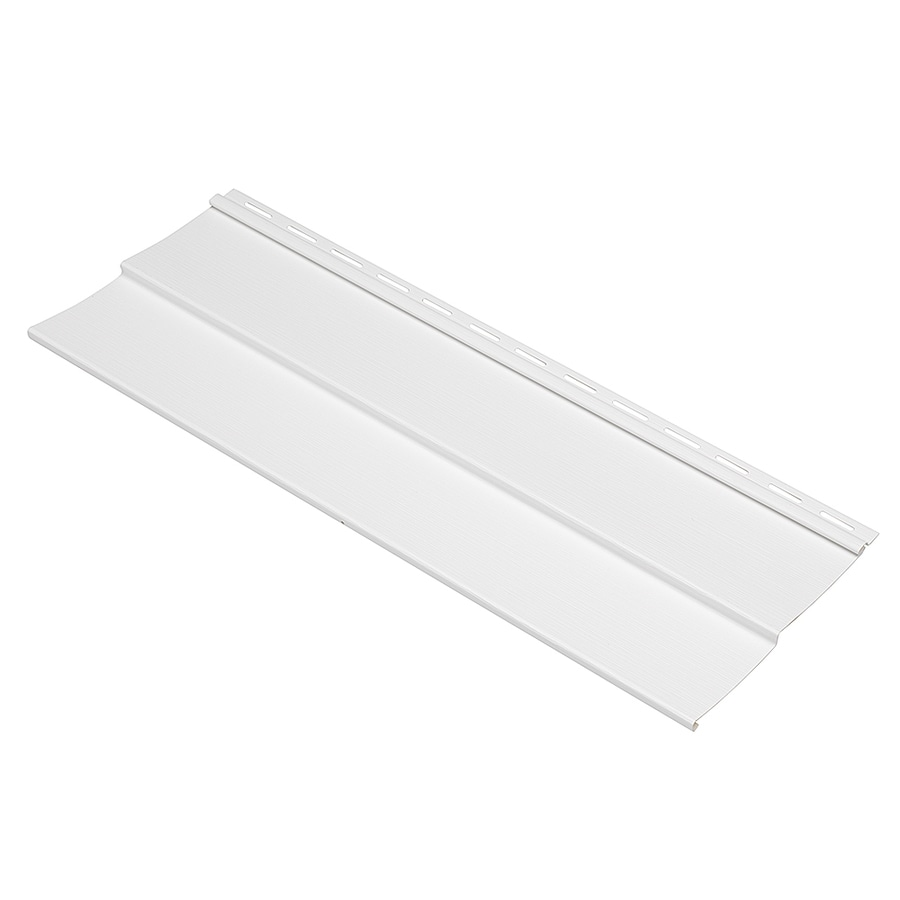 Durabuilt 410 Vinyl Siding Sample Double 4 Traditional White