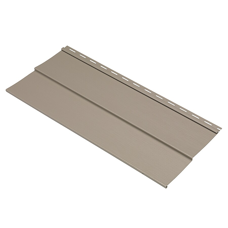 Durabuilt 410 Vinyl Siding Sample Double 5 Traditional Stone Clay
