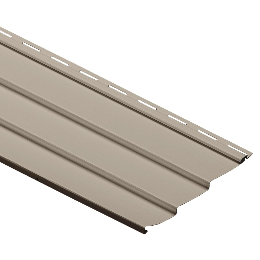 Durabuilt Traditional Stone Clay Vinyl Siding Panel 9-in x 145-in