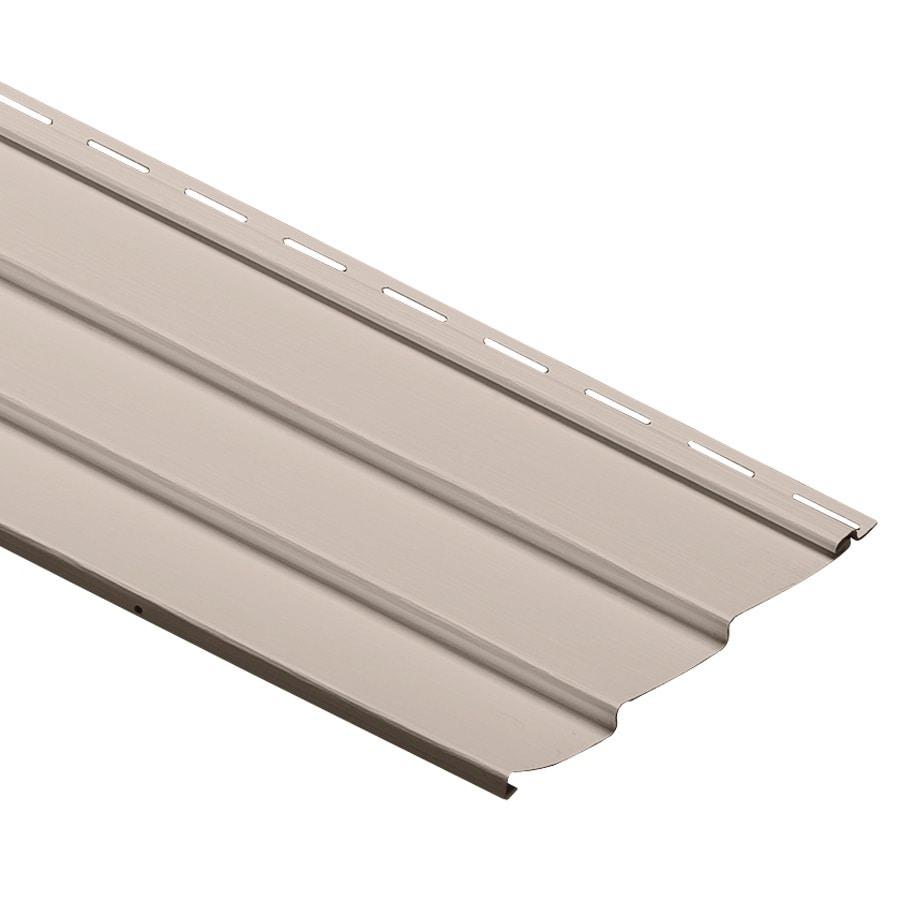 Durabuilt 410 Vinyl Siding Panel Triple 3 Traditional Beige 9-in x 145-in