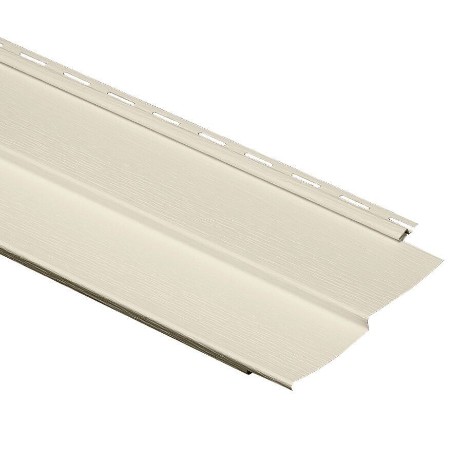 Durabuilt 440 Vinyl Siding Panel Double 4 Traditional Cream 8-in x 150-in