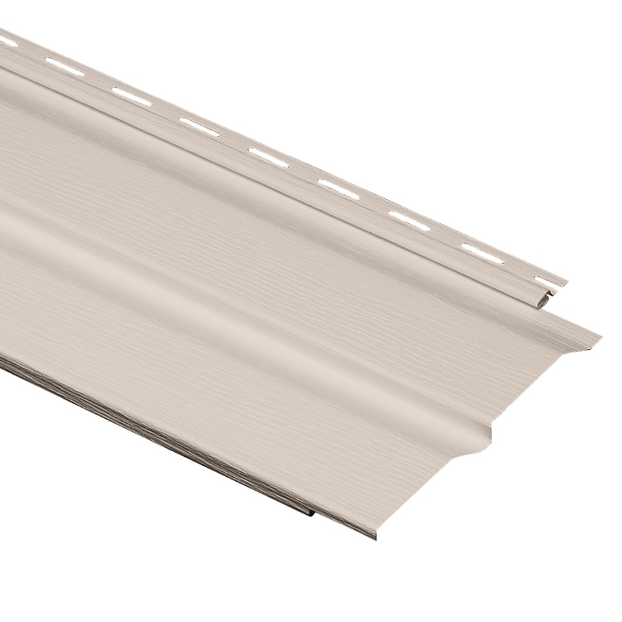 Durabuilt 440 Vinyl Siding Panel Double 4 Dutch Lap Beige 8-in x 150-in