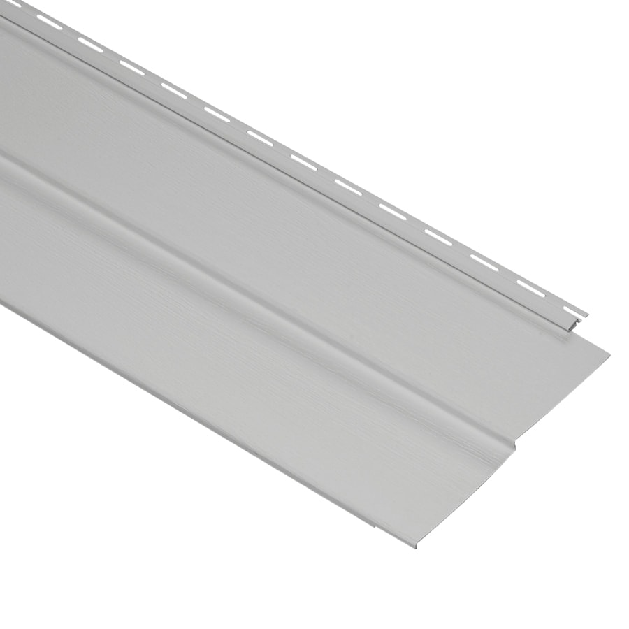 Durabuilt Traditional Gray Vinyl Siding Panel 10-in x 144-in