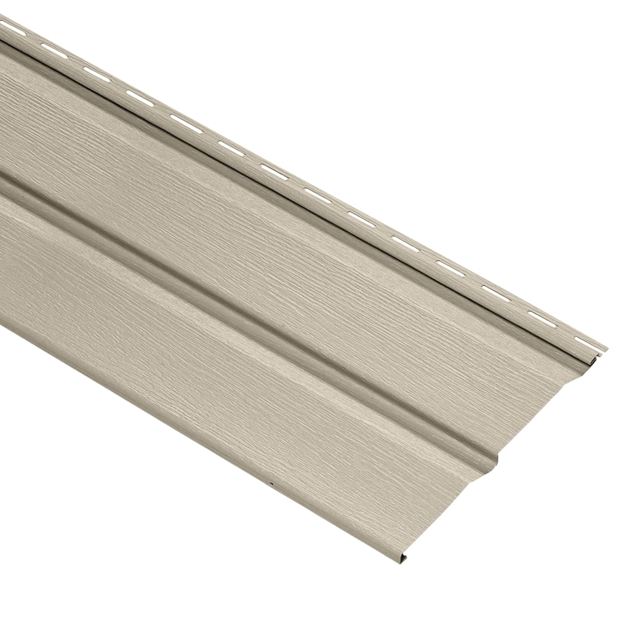 Durabuilt Dutch Lap Tan Vinyl Siding Panel 10-in x 144-in