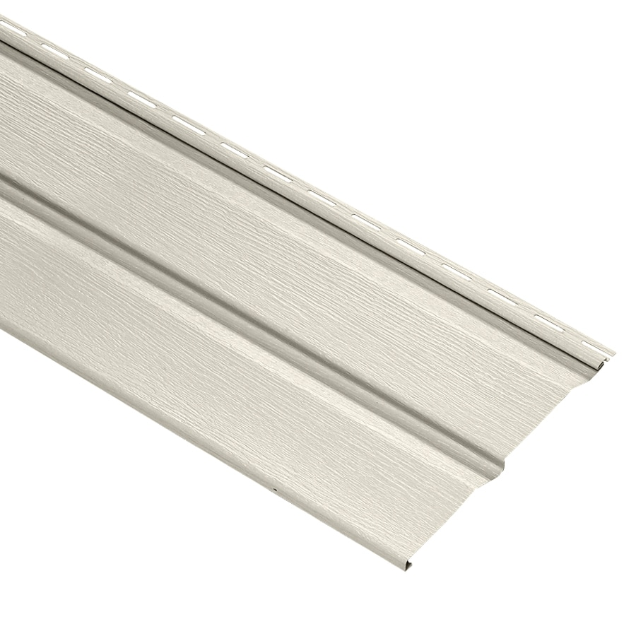 Durabuilt Dutch Lap Almond Vinyl Siding Panel 10-in x 144-in