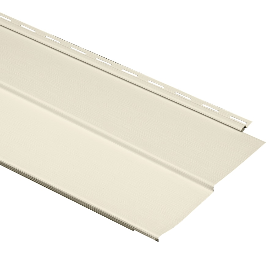 Durabuilt 440 Vinyl Siding Panel Double 5 Traditional Cream 10-in x 144-in