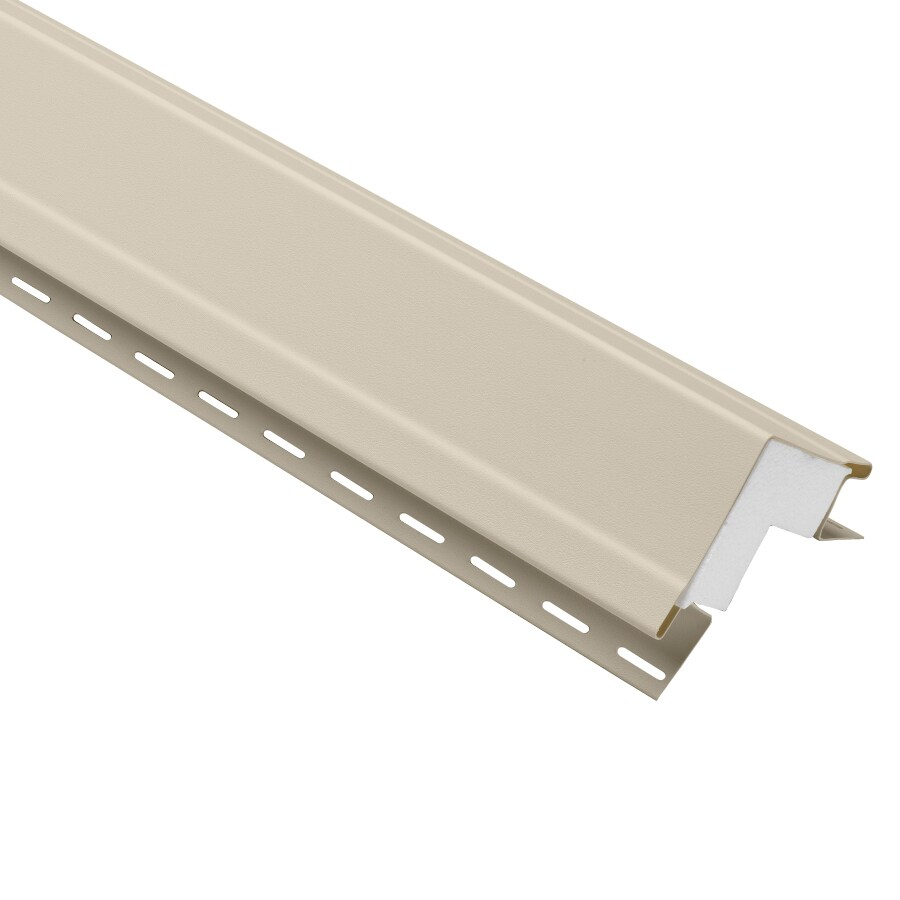 Durabuilt 4-in x 144-in Tan Outside Corner Post Vinyl Siding Trim