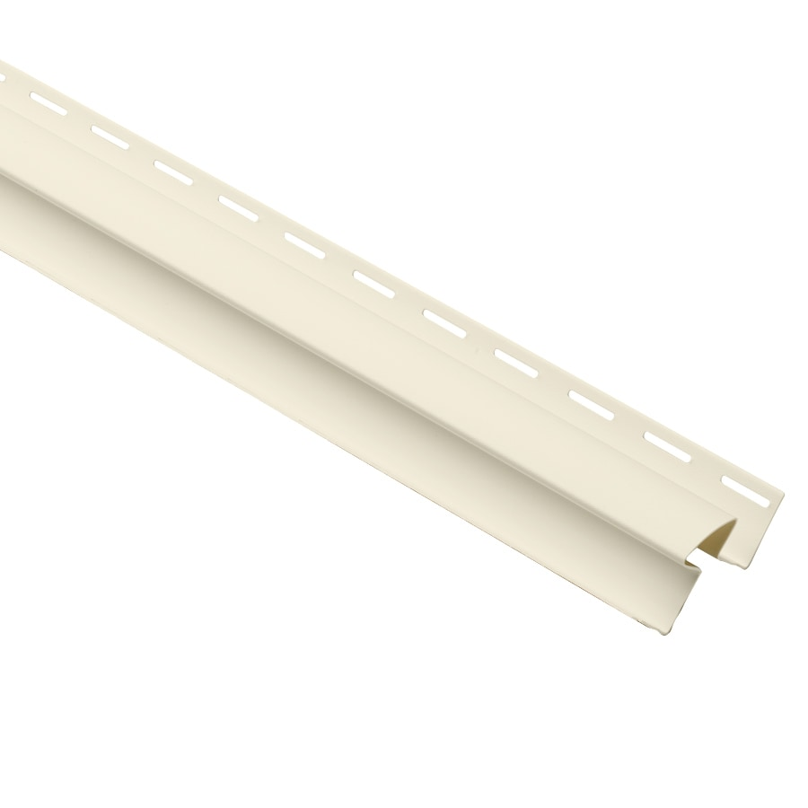 Durabuilt 1.125-in x 144-in Cream Inside Corner Post Vinyl Siding Trim