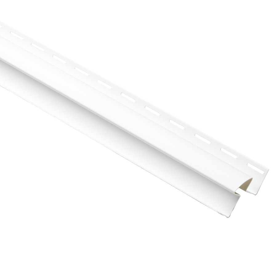 Durabuilt 1.125-in x 144-in White Inside Corner Post Vinyl Siding Trim