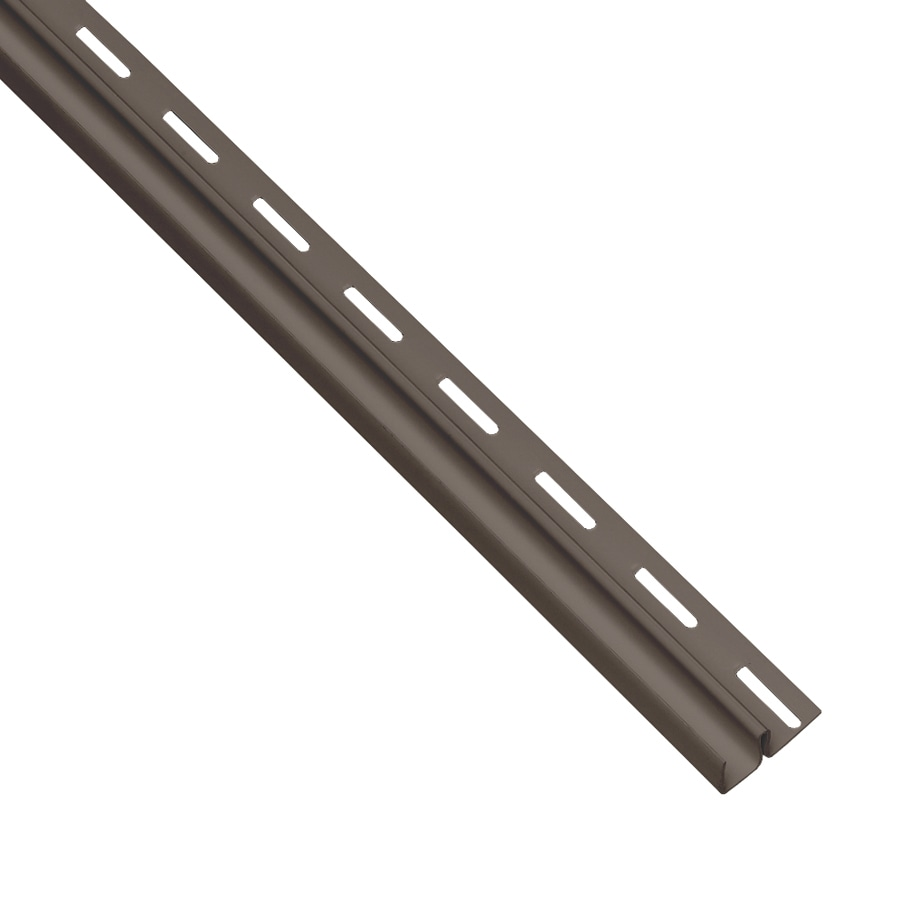 Georgia-Pacific Vinyl Siding Trim F-Trim Musket Brown 0.5-in x 150-in