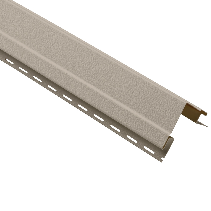Durabuilt 4-in x 120-in Clay Outside Corner Post Vinyl Siding Trim