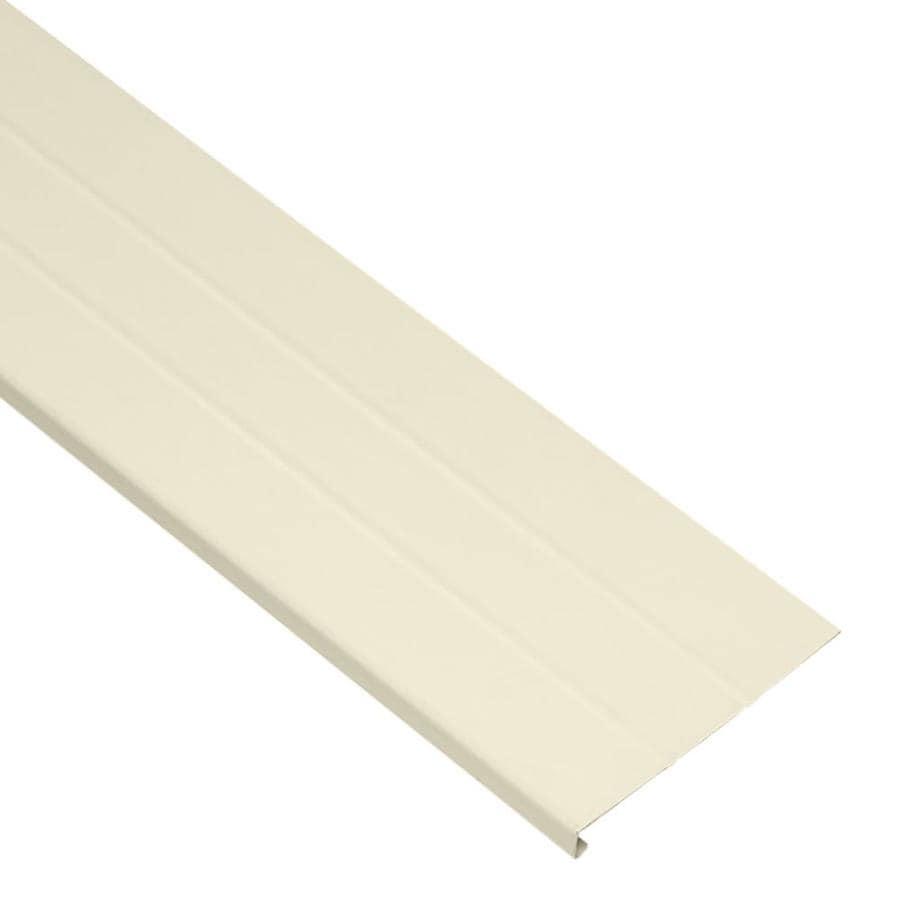 Durabuilt 8-in x 12.5-ft Cream Smooth Fascia