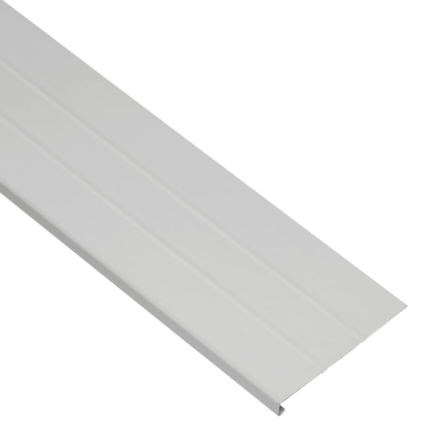 Shop Durabuilt 8 In X 12 5 Ft 400 Gray Smooth Aluminum