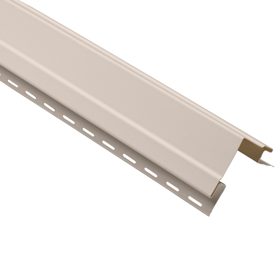 Durabuilt 4-in x 120-in Beige Outside Corner Post Vinyl Siding Trim
