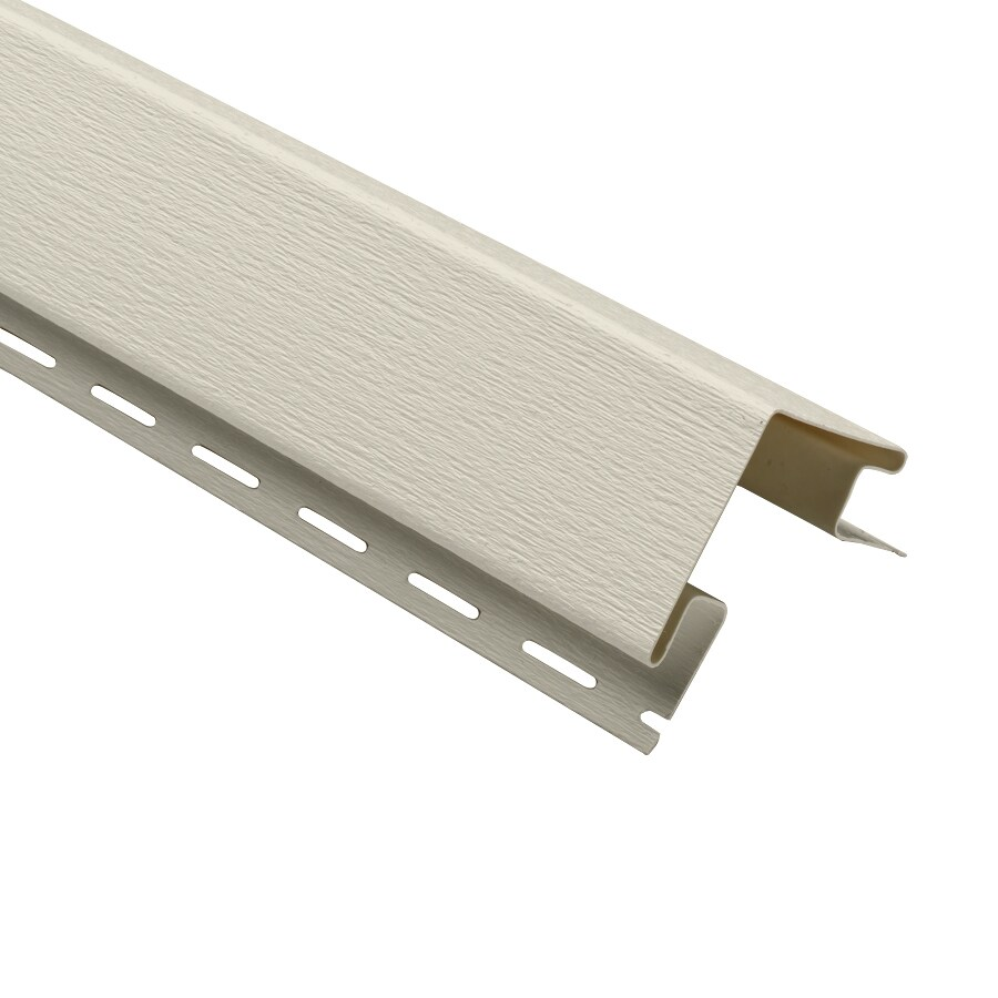 3-in x 120-in Almond Outside Corner Post Vinyl Siding Trim