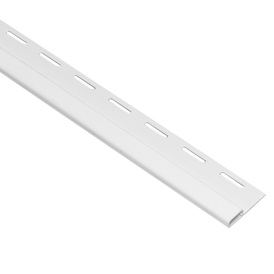 0.75-in x 150-in White Undersill Vinyl Siding Trim
