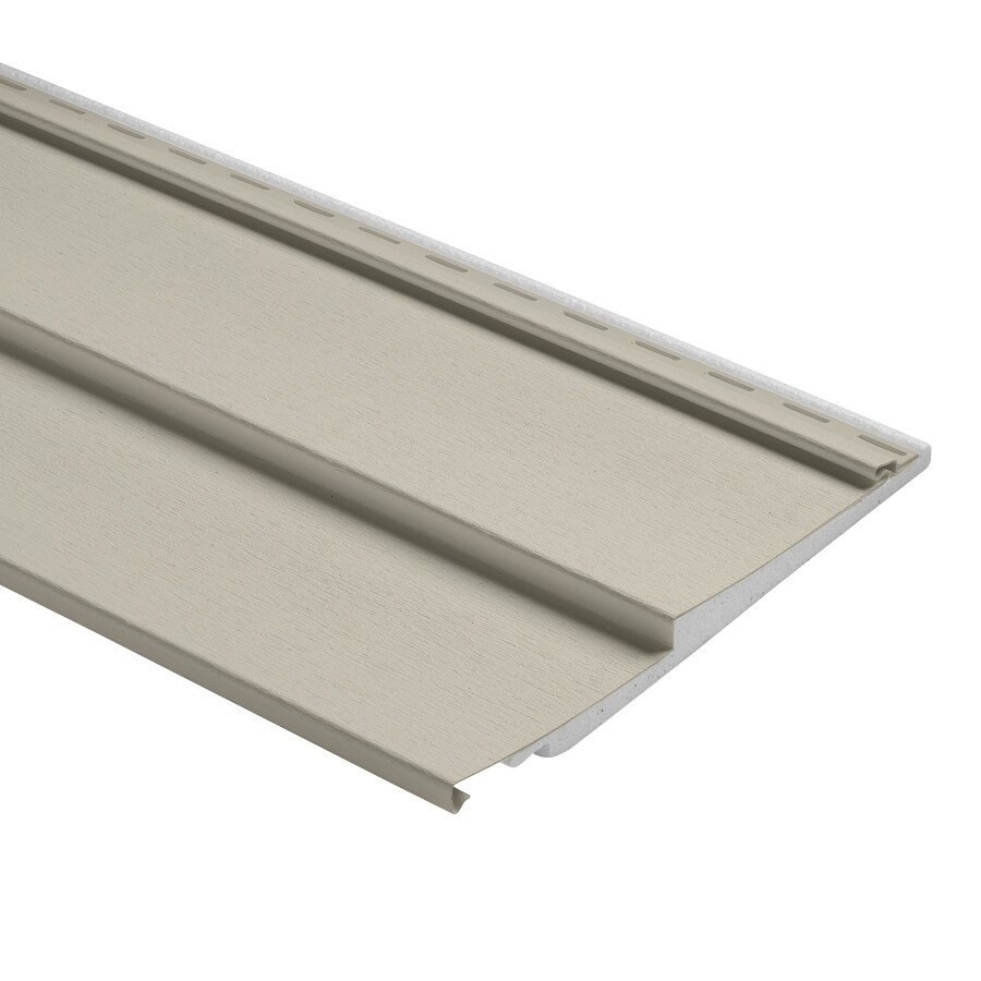 Durabuilt Traditional Almond Vinyl Siding Panel 12-in x 150-in