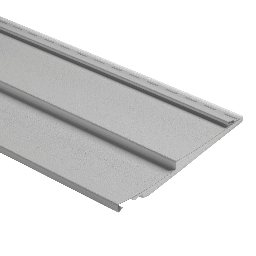 Durabuilt Traditional Gray Vinyl Siding Panel 12-in x 150-in