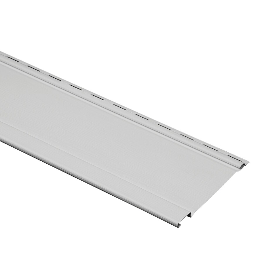 Durabuilt 480 Vinyl Siding Panel Board And Batten Gray 7-in x 120-in