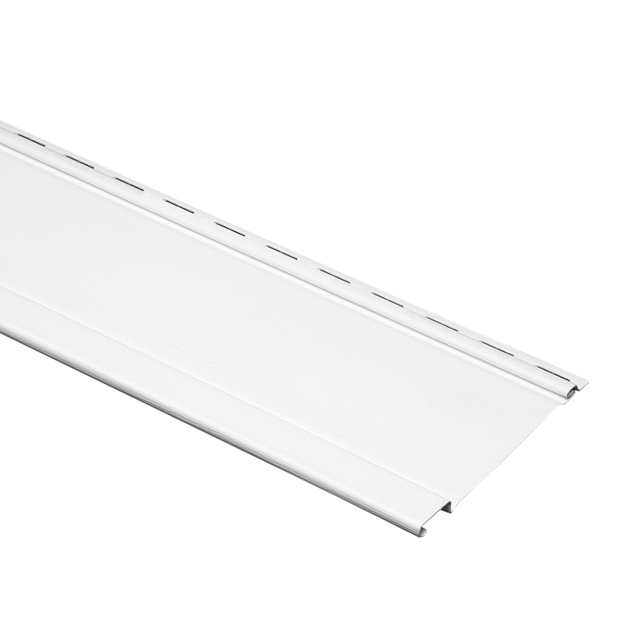 shop durabuilt 480 vinyl siding panel board and batten white 7