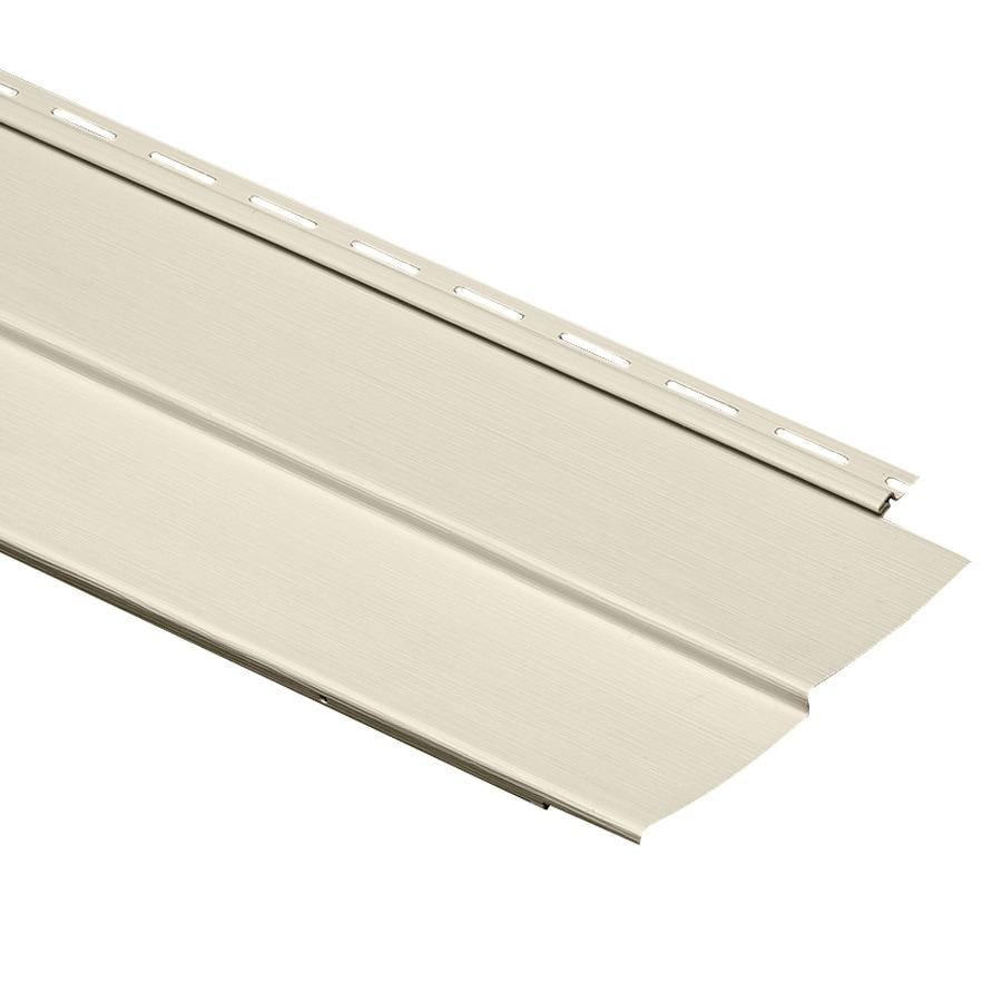 Durabuilt Traditional Cream Vinyl Siding Panel 8-in x 150-in
