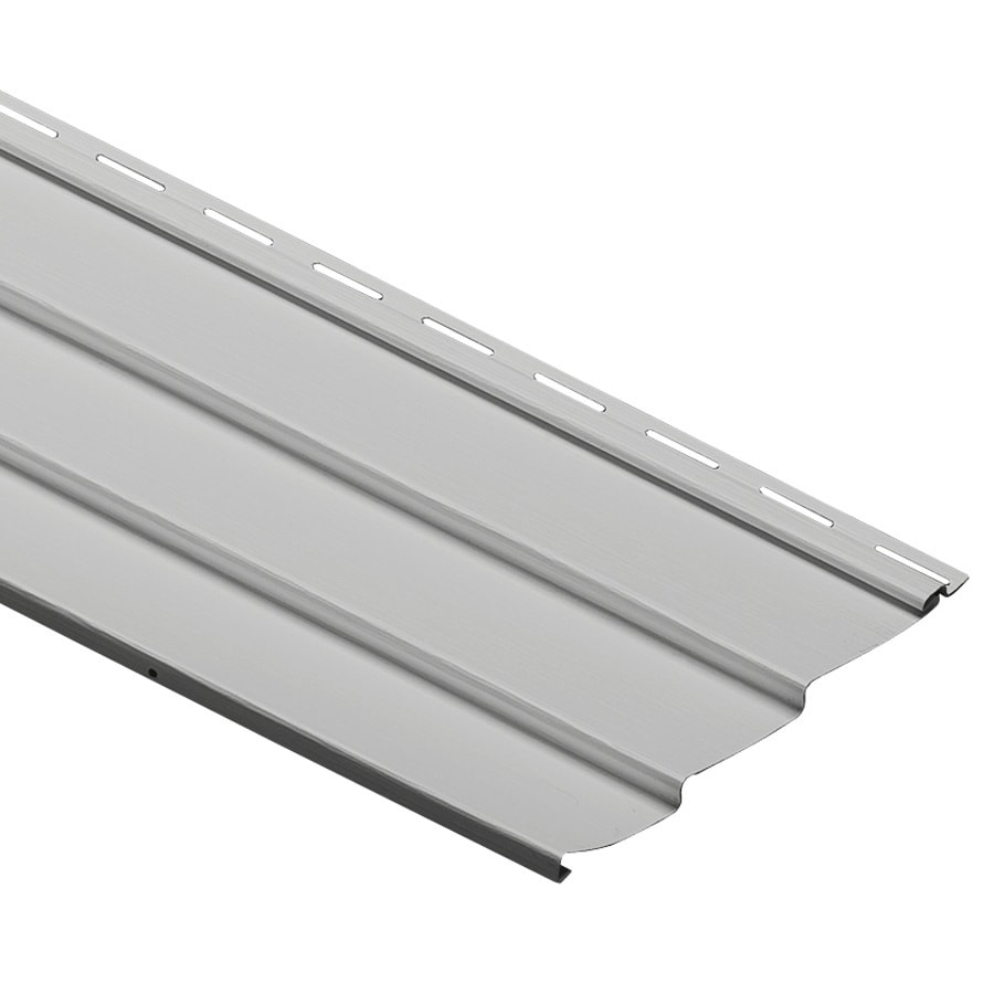 Durabuilt Traditional Gray Vinyl Siding Panel 9-in x 145-in