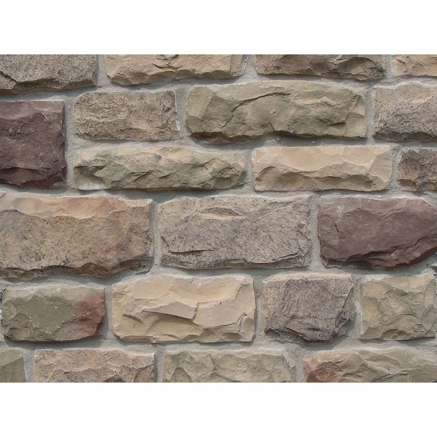 Ply Gem Stone Cut Cobblestone 10-sq ft Easton Faux Stone Veneer