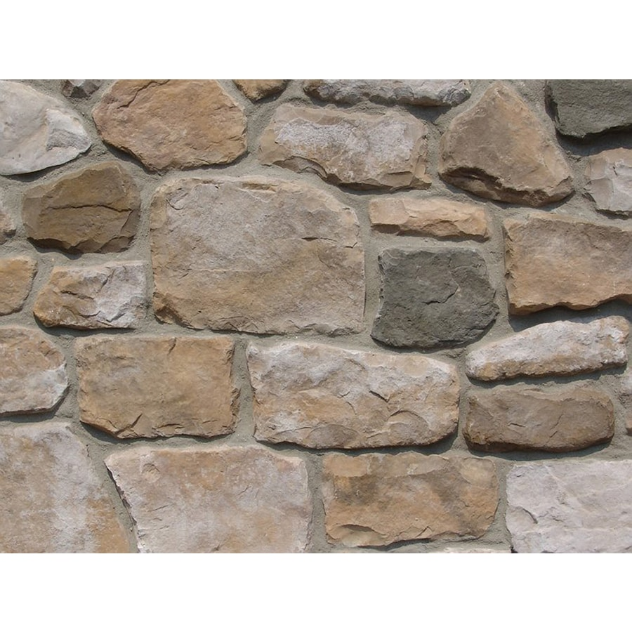 Ply Gem Stone Fieldstone 10-sq ft Autumn Faux Stone Veneer