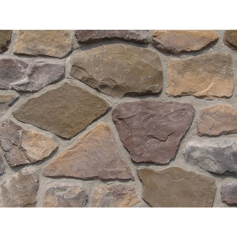 Ply Gem Stone Fieldstone 10-sq ft Buckingham Faux Stone Veneer