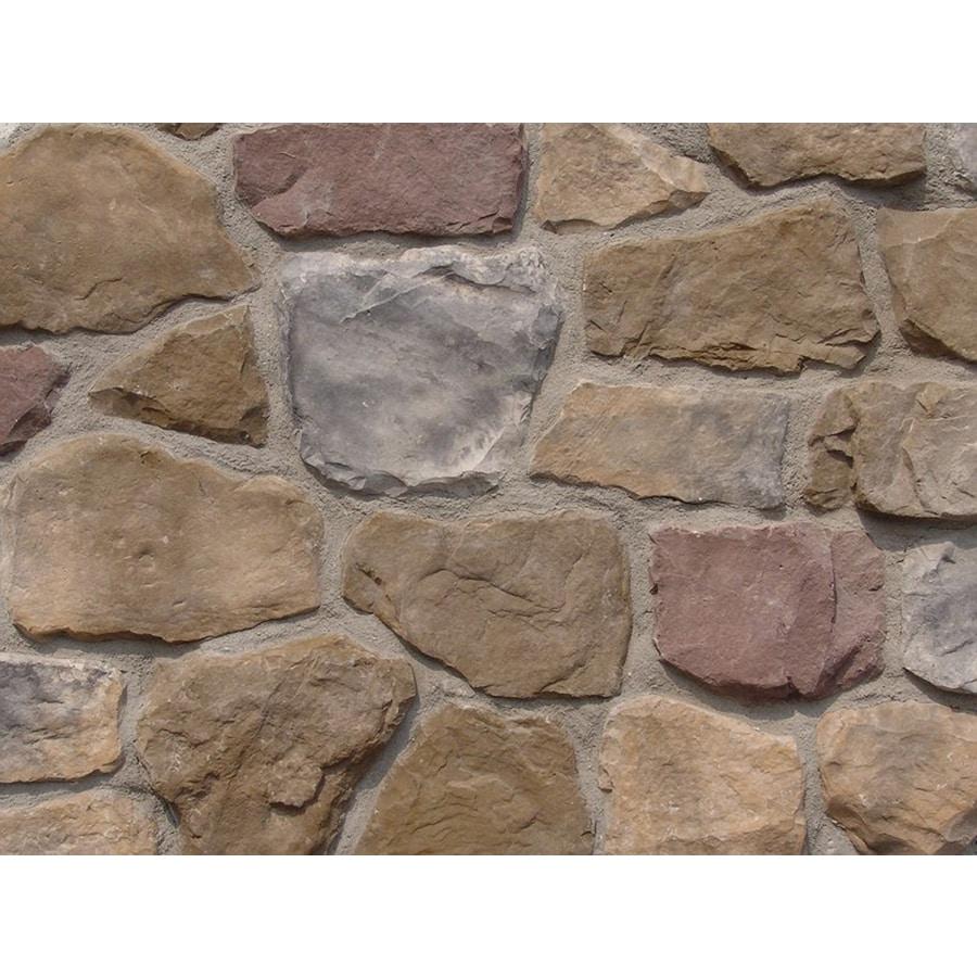 Ply Gem Stone Fieldstone 10-sq ft Chardonnay Faux Stone Veneer