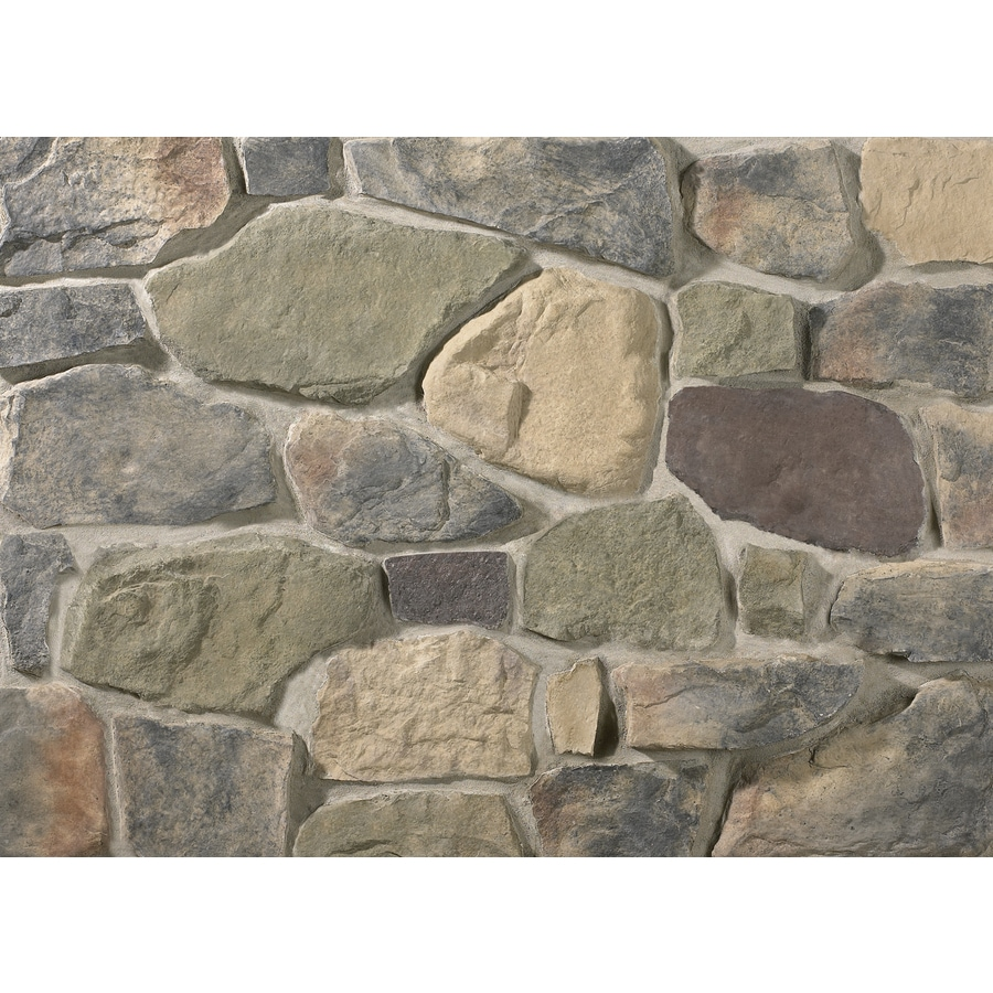 Ply Gem Stone Fieldstone 10-sq ft Easton Faux Stone Veneer