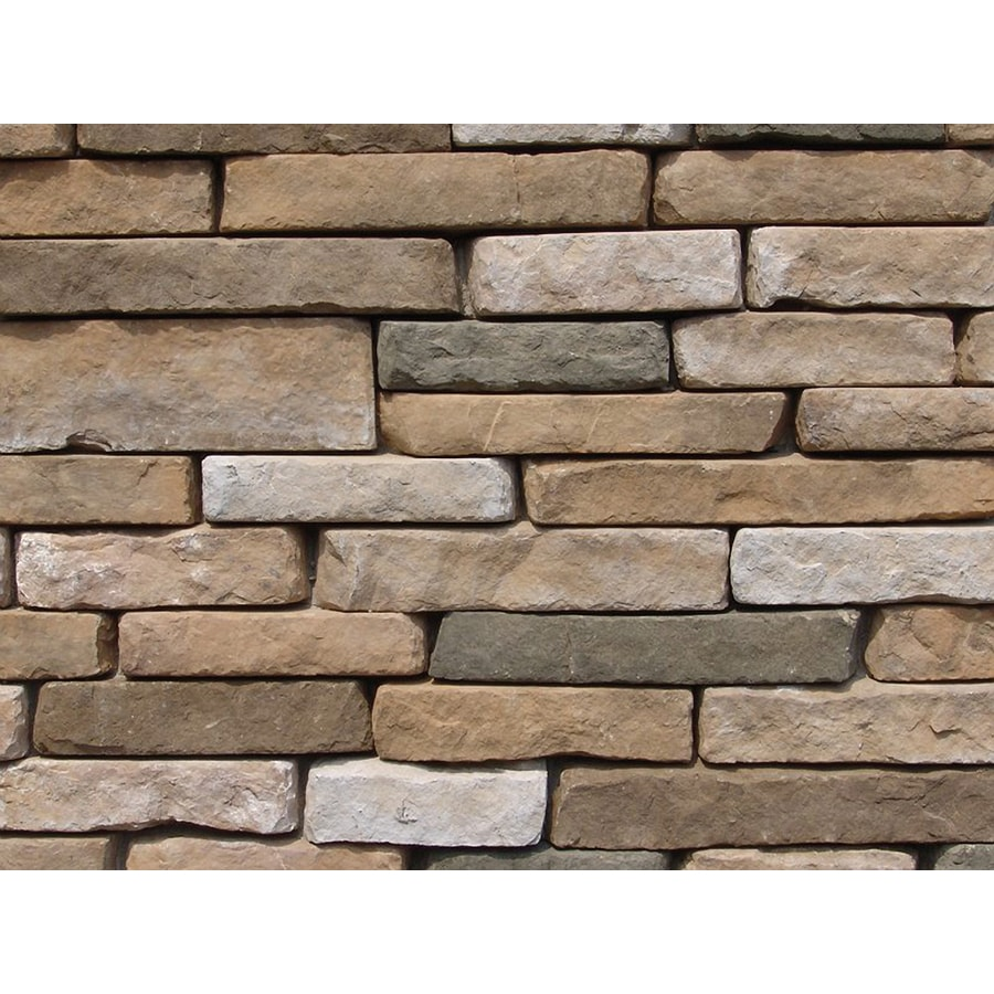 Ply Gem Stone Ledgestone 10-sq ft Autumn Faux Stone Veneer