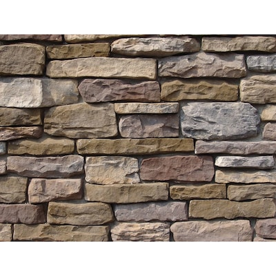 Ply Gem Stone Shadow Ledgestone 10 Sq Ft Buckingham Faux
