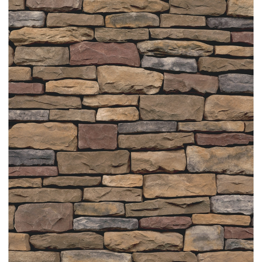 Ply Gem Stone Shadow Ledgestone 10-sq ft Chardonnay Faux Stone Veneer