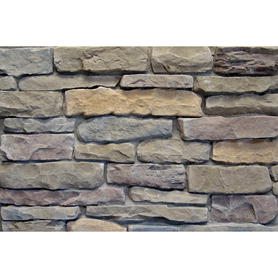 Ply Gem Stone Shadow Ledgestone 10-sq ft Shenandoah Faux Stone Veneer